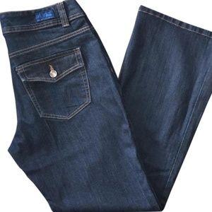 Bandolinoblu Ariana Bootcut Jeans/petite